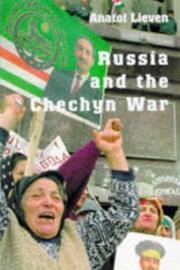 CHECHNYA by Anatol Lieven