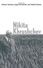NIKITA KHRUSHCHEV by William Taubman