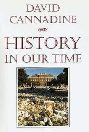 HISTORY IN OUR TIME by David Cannadine