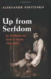UP FROM SERFDOM by Aleksandr Nikitenko