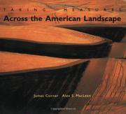 TAKING MEASURES ACROSS THE AMERICAN LANDSCAPE by James & Alex S. MacLean Corner