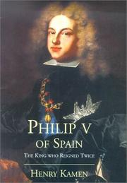 Book Cover for PHILIP V OF SPAIN