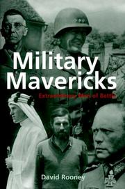 MILITARY MAVERICKS by David Rooney