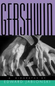 GERSHWIN: A Biography by Edward Jablonski