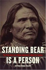 STANDING BEAR IS A PERSON by Stephen Dando-Collins