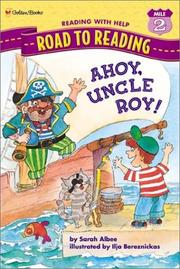 Cover art for AHOY, UNCLE ROY!