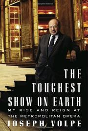 THE TOUGHEST SHOW ON EARTH by Joseph Volpe