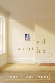 Cover art for RED WEATHER