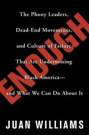 ENOUGH by Juan Williams