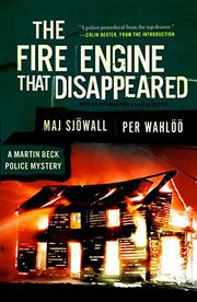 THE FIRE ENGINE THAT DISAPPEARED by Per Wahlöö