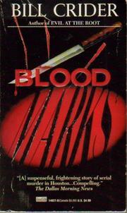 BLOOD MARKS by Bill Crider