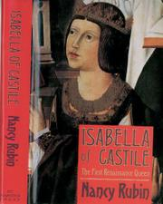 ISABELLA OF CASTILE by Nancy Rubin