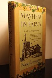MAYHEM IN PARVA by Nancy Livingston