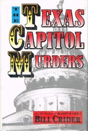 THE TEXAS CAPITOL MURDERS by Bill Crider