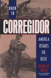 BACK TO CORREGIDOR by Gerard M. Devlin