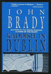 KADDISH IN DUBLIN by John Brady