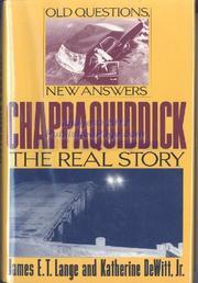 CHAPPAQUIDDICK by James E.T. Lange