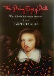 THE SLICING EDGE OF DEATH by Judith Cook