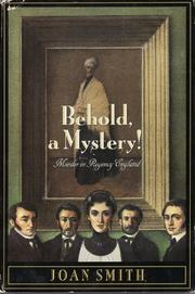 BEHOLD, A MYSTERY! by Joan Smith