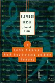 ELEVATOR MUSIC by Joseph Lanza