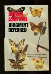 JUDGMENT DEFERRED by Jeffrey Ashford