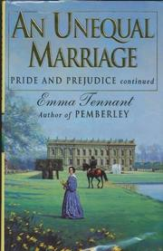 AN UNEQUAL MARRIAGE by Emma Tennant