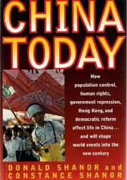 CHINA TODAY by Donald Shanor