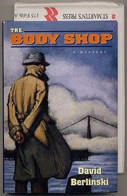 THE BODY SHOP by David Berlinski