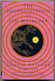 THE DECHRONIZATION OF SAM MAGRUDER by George Gaylord Simpson