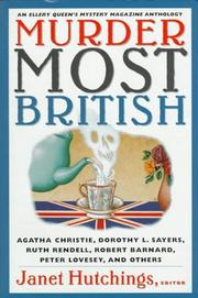 MURDER MOST BRITISH by Janet Hutchings