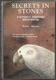 SECRETS IN STONES by Anna Shone