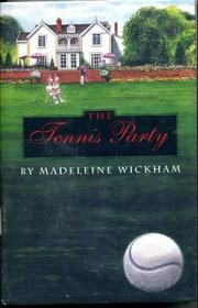 Cover art for THE TENNIS PARTY