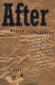 AFTER by Melvin Jules Bukiet