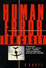 HUMAN ERROR by Tom Casey