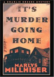 Cover art for IT'S MURDER GOING HOME