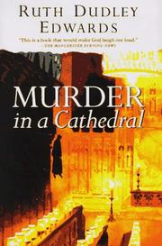Cover art for MURDER IN A CATHEDRAL