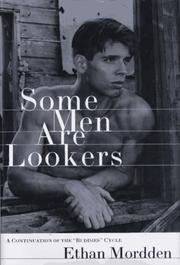 SOME MEN ARE LOOKERS by Ethan Mordden