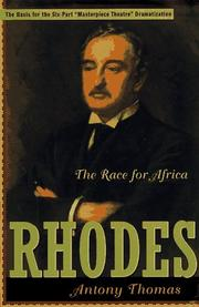 RHODES by Antony Thomas