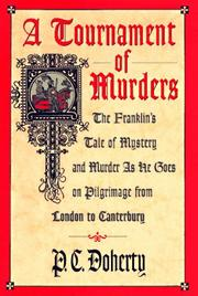A TOURNAMENT OF MURDERS by P.C. Doherty