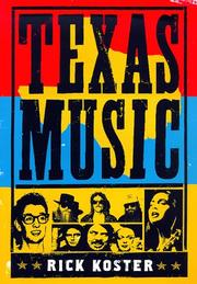 TEXAS MUSIC by Rick Koster