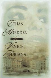 THE VENICE ADRIANA by Ethan Mordden