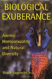 BIOLOGICAL EXUBERANCE by Bruce Bagemihl