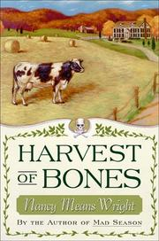 HARVEST OF BONES by Nancy Means Wright