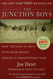THE JUNCTION BOYS by Jim Dent