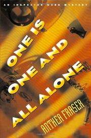 ONE IS ONE AND ALL ALONE by Anthea Fraser
