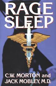 RAGE SLEEP by C.W. Morton