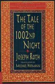 THE TALE OF THE 1002ND NIGHT by Joseph Roth