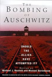 Cover art for THE BOMBING OF AUSCHWITZ