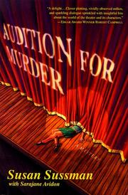 AUDITION FOR MURDER by Susan Sussman