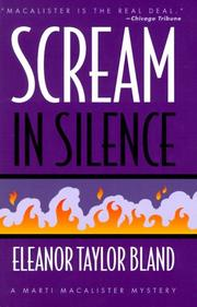 SCREAM IN SILENCE by Eleanor Taylor Bland